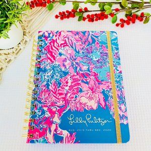 Lilly Pulitzer NWT 2020 JUMBO Planner Art Journal
